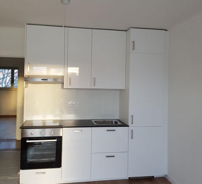 meuble cuisine blanc simple